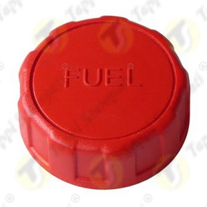 Tappo serbatoio 940.BKE carburante rosso in plastica filettato femmina per moto